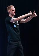 Dennie Olde Kalter during the BDO World Professional Championships at the O2 Arena, London, United Kingdom on 9 January 2020.