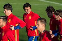 Mikel Oyarzabal during the training of Spanish national team under 21 at Ciudad del El futbol  in Madrid, Spain. March 21, 2017. (ALTERPHOTOS / Rodrigo Jimenez)