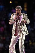Toppers in Concert 'Royal Night of Disco' in de Amsterdam ArenA.<br /> <br /> Op de foto:  Rene Froger