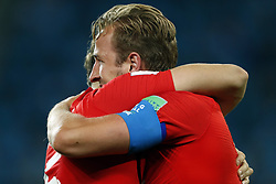 Harry Kane of England during the 2018 FIFA World Cup Russia round of 16 match between Columbia and England at the Spartak stadium  on July 03, 2018 in Moscow, Russia