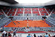 General view of Central court Manolo Santana during the Mutua Madrid Open 2018 tennis match on May 11, 2018 played at Caja Magica in Madrid, Spain - Photo Oscar J Barroso / SpainProSportsImages / DPPI / ProSportsImages / DPPI