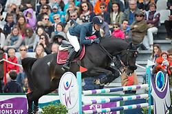 Delestre Simon, (FRA), Qlassic Bois Margot<br /> Prix Conseil Général de Loire Atlantique<br /> Longines Jumping International de La Baule 2015<br /> © Hippo Foto - Dirk Caremans<br /> 14/05/15