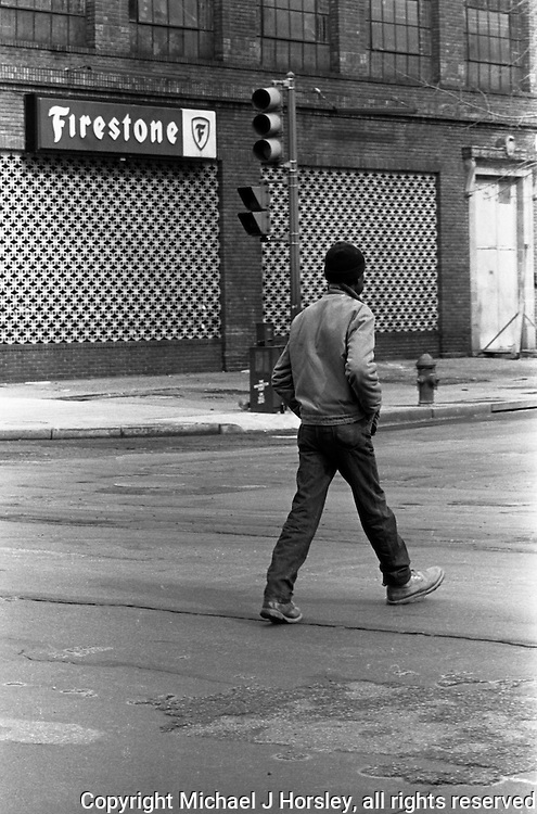 14th and P Streets NW Washington DC 1986