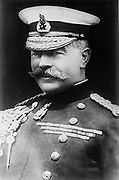 Horatio Herbert Kitchener, 1st Earl Kitchener (1850– 1916) British Field Marshal who played a central role in the early part of the World War I.  In June 1916 he died when HMS Hampshire struck a German mine and sank.