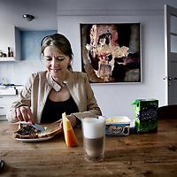 Nederland, Amsterdam , 15 januari 2013..Dieetgoeroe en gewichtscoach Mieke Kosters en auteur van het boek Het geheim van slanke mensen..Foto:Jean-Pierre Jans