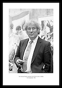 Poet Seamus Heaney pictured at the GPA Awards in Dublin.<br /> <br /> 23rd September 1984<br /> <br /> 23/09/1984