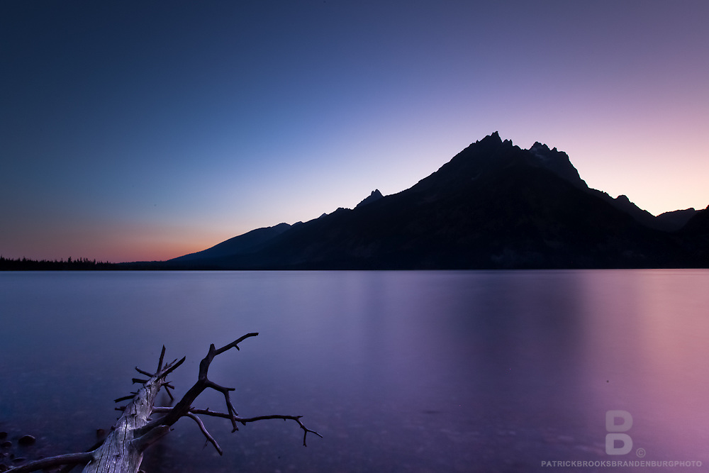 Timelapse photography of Jenny Lake and the Cascade Canyon in the Grand Teton National Park.