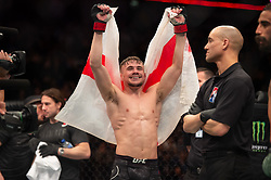 March 16, 2019 - London, United Kingdom - Nathaniel Wood defeats Jose Alberto Quiones by submission during UFC Fight Night 147 at the London O2 Arena, Greenwich on Saturday 16th March 2019. (Credit Image: © Mi News/NurPhoto via ZUMA Press)