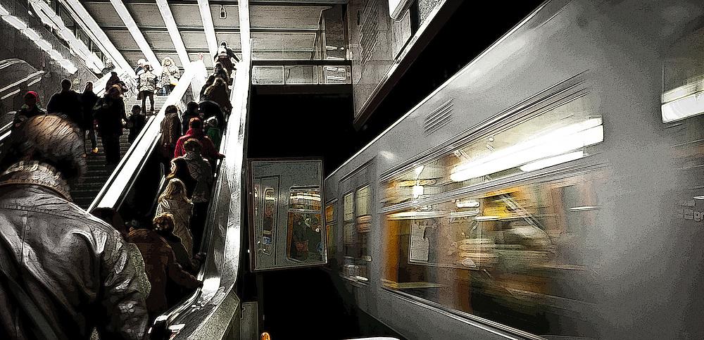 U-Bahn in Vienna