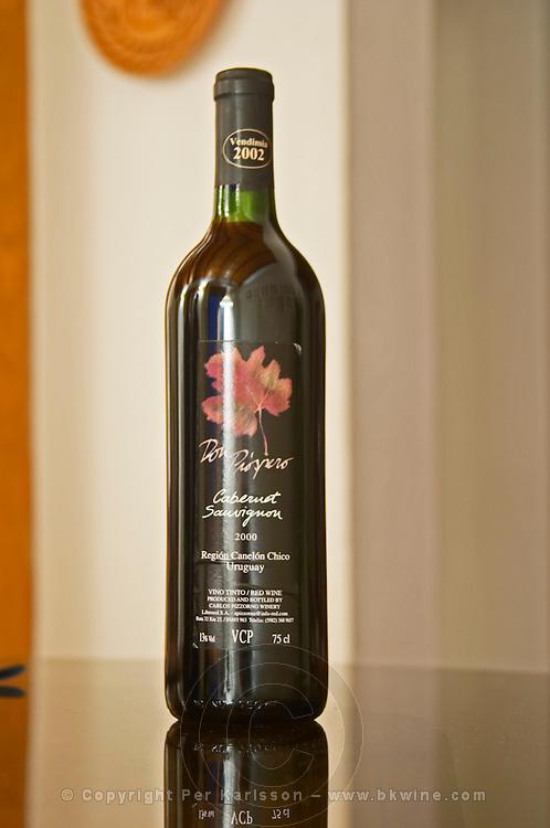 Bottle of Don Prospero Cabernet Sauvignon 2000 Bodega Carlos Pizzorno Winery, Canelon Chico, Canelones, Uruguay, South America