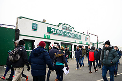 A general view outside Home Park, Plymouth Argyle - Mandatory by-line: Dougie Allward/JMP - 17/03/2018 - FOOTBALL - Home Park - Plymouth, England - Plymouth Argyle v Bristol Rovers - Sky Bet League One