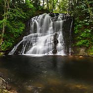 Chase River Falls in Nanaimo, British Columbia, Canada