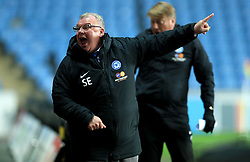 Peterborough United's Manager Steve Evans gestures on the touchline