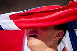 09-08-2017 IAAF World Championships Athletics day 6, London<br /> Karsten Warholm NOR heeft vanavond bij de WK atletiek in Londen verrassend beslag gelegd op het goud bij de 400 meter horden.