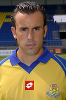 Fotball<br /> Frankrike 2004/05<br /> FC Gueugnon<br /> 27. juli 2004<br /> Foto: Digitalsport<br />  FLORIAN BOUCANSAUD