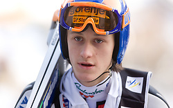 Peter Prevc of Slovenia during Trial round of the FIS Ski Jumping World Cup event of the 58th Four Hills ski jumping tournament, on January 5, 2010 in Bischofshofen, Austria. (Photo by Vid Ponikvar / Sportida)