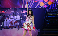 Katy Perry performs at the Bridgestone Arena on Fridday, August 19, 2011. (Photo by Frederick Breedon) Photo © Frederick Breedon. All rights reserved. Unauthorized duplication prohibited.