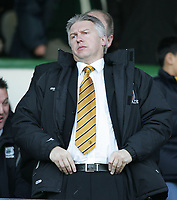 Photo: Lee Earle.<br /> Plymouth Argyle v Hull City. Coca Cola Championship. 09/12/2006. Hull chairman Adam Pearson.