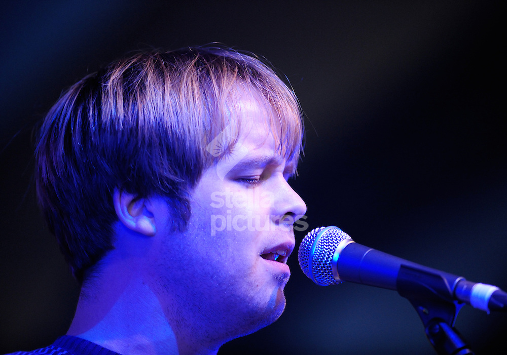 Picture by Daniel Hambury.19/07/08.James Skelly, lead singer and guitarist with The Coral at Latitude Music Festival..The festival, is held each year on the Henham Estate, near Southwold on the Suffolk coast.
