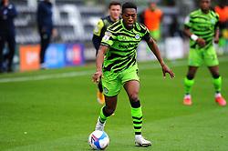 Ebou Adams of Forest Green Rovers- Mandatory by-line: Nizaam Jones/JMP - 17/10/2020 - FOOTBALL - innocent New Lawn Stadium - Nailsworth, England - Forest Green Rovers v Stevenage - Sky Bet League Two