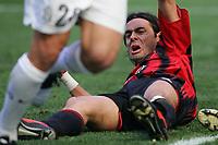 Fotball<br /> Serie A Italia<br /> Foto: Graffiti/Digitalsport<br /> NORWAY ONLY<br /> <br /> Milano 8/5/2005 <br /> <br /> Milan Juventus 0-1<br /> <br /> Filippo Inzaghi Milan