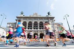 22.04.2018, Wien, AUT, Vienna City Marathon 2018, im Bild Feature Läufer // during Vienna City Marathon 2017, Vienna, Austria on 2018/04/22. EXPA Pictures © 2018, PhotoCredit: EXPA/ Michael Gruber