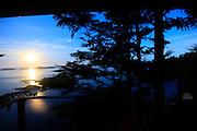 Moonrise, Talon Lodge, Sitka, Alaska