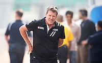 NEW DELHI - Nieuwzeelandse bondscoach Colin Batch tijdens de derde poulewedstrijd in de finaleronde van de Hockey World League tussen de mannen van Nieuw-Zeeland en Engeland.  ANP KOEN SUYK