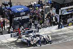 November 12, 2017 - Avondale, Arizona, United States of America - November 12, 2017 - Avondale, Arizona, USA: Brad Keselowski (2) comes down pit road for service during the Can-Am 500(k) at Phoenix Raceway in Avondale, Arizona. (Credit Image: © Justin R. Noe Asp Inc/ASP via ZUMA Wire)