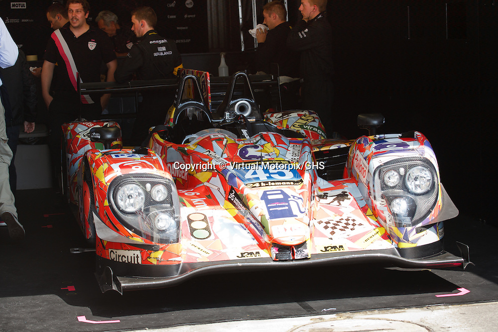 #45 Morgan-Nissan, Oak Racing, LM P2, drivers: Merlin, Mondolot, Nicolet, Le Mans 24H 2013