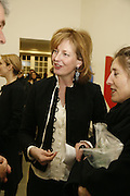 Julia Peyton-Jones, Ellsworth Kelly exhibition opening. Serpentine Gallery and afterwards at the River Cafe. London. 17 March 2006. ONE TIME USE ONLY - DO NOT ARCHIVE  © Copyright Photograph by Dafydd Jones 66 Stockwell Park Rd. London SW9 0DA Tel 020 7733 0108 www.dafjones.com