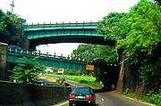 Scenic underpass.  New York New York USA