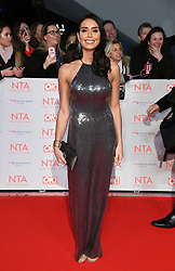 Christine Lampard attending the National Television Awards 2018 held at the O2, London. Photo credit should read: Doug Peters/EMPICS Entertainment