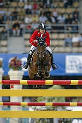 Govoni Gianni - Loro Piana Havinia<br /> World Equestrian Games Jerez de la Fronteira 2002<br /> Photo © Dirk Caremans