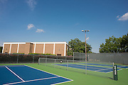 A general view of the 36' courts at the Samuell Grand Tennis Center in Dallas, Texas on August 19, 2014. (Cooper Neill for The New York Times)