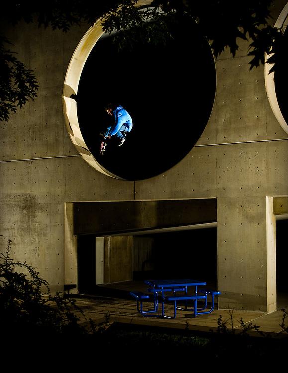 Braden Wahr shot for Concrete Wave Magazine in Denver, Colorado.