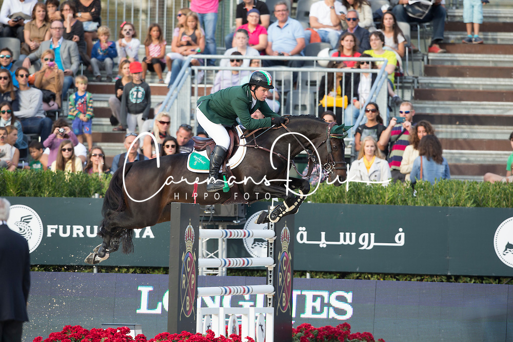 O Connor Cian, (IRL), Good Luck <br /> First Round<br /> Furusiyya FEI Nations Cup Jumping Final - Barcelona 2015<br /> © Dirk Caremans<br /> 24/09/15