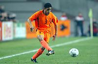 Fotball<br /> Play Off EM 2004<br /> 19.11.2003<br /> Nederland v Skottland 6-0<br /> Foto: Digitalsport<br /> Norway Only<br /> <br /> MICHAEL REIZIGER (NET) <br /> <br /> PHOTO LAURENT BAHEUX