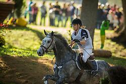 Teglbjerg Sofie (DEN) - Cocktail Imperial <br /> Cross country  6 years old horses<br /> Mondial du Lion - Le Lion d'Angers 2014<br /> © Dirk Caremans<br /> 18/10/14