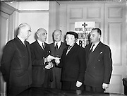 19/12/1956<br /> 12/19/1956<br /> 19 December 1956<br /> <br /> Irish Chemists and Druggists Gift for Hungarian Relief Fund