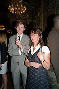 DICK CHARTERIS; LOUISE GUINNESS,  Drinks the evening before the The 2008 Crillon Debutante Ball. Baccarat. Place des Etats-Unis.  Paris. 29 November 2008. *** Local Caption *** -DO NOT ARCHIVE-© Copyright Photograph by Dafydd Jones. 248 Clapham Rd. London SW9 0PZ. Tel 0207 820 0771. www.dafjones.com.
