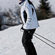 AUD/Lech/20110219 - Fotosessie Nederlandse Koninklijke Familie 2011 op wintersport in Lech, Willem Alexander
