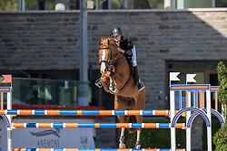 Morsink Elike, NED, Jokina<br /> Nationaal Kampioenschap KWPN<br /> 6 jarigen springen final<br /> Stal Tops - Valkenswaard 2020<br /> © Hippo Foto - Dirk Caremans<br /> 19/08/2020