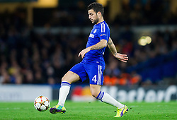 Cesc Fàbregas of Chelsea during football match between Chelsea FC and NK Maribor, SLO in Group G of Group Stage of UEFA Champions League 2014/15, on October 21, 2014 in Stamford Bridge Stadium, London, Great Britain. Photo by Vid Ponikvar / Sportida.com