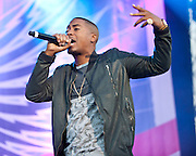 COLUMBIA, MD - October 6th, 2012 - Hip-hop legend Nas performs at the 2012 Virgin Mobile FreeFest in Columbia, MD. (Photo by Kyle Gustafson / For The Washington Post)