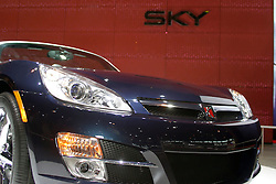 09 February 2006:  2007 Saturn Sky.....Chicago Automobile Trade Association, Chicago Auto Show, McCormick Place, Chicago IL