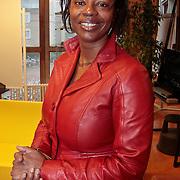 NLD/Huizen/20110228 - Gastles 1e kamerlid Joyce Sylvester op het Erfgooierscollege, Joyce Sylvester