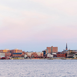 Portland, Maine, as seen from Bug Light Park in South Portland.