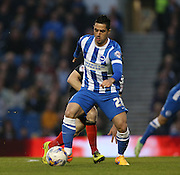 Beram Kayal, Brighton midfielder during the Sky Bet Championship match between Brighton and Hove Albion and Bournemouth at the American Express Community Stadium, Brighton and Hove, England on 10 April 2015.