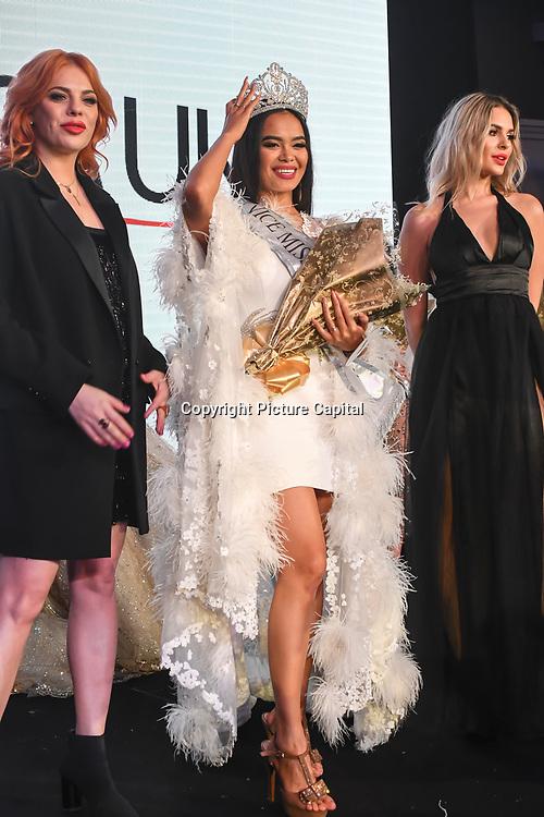 Roksana Slyahtitch and Julia Sinitsina attend Grand Final MISS USSR UK 2019 at Hilton hotel London on 27 April 2019, London, UK.